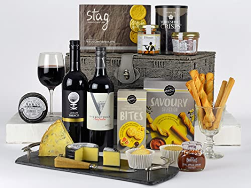 Cheese Lovers Choice Cheese Board Selection - Father's Day, Birthday, Gift for Him, Her, Thank You, Christmas