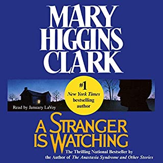 A Stranger Is Watching audiobook cover art