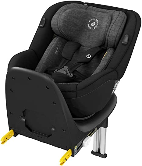 Maxi-Cosi Mica 360° Rotative Car Seat with ISOFIX, Convertible, Rearward and Forward Facing, from Birth Until 4 Years, 40-105 cm, Authentic Black: image
