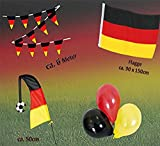KarnevalsTeufel Fan Set, 4-TLG. Deutschland, EM, WM, Fußballparty, Germany, Fanartikel