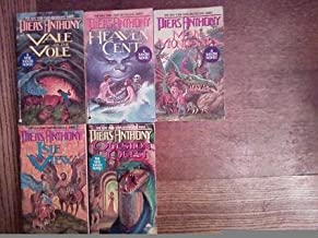 Piers Anthony Xanth Series: Book 10. Vale of the Vole; Book 11. Heaven Cent; Book 12. Man from Mundania; Book 13. Isle of ...