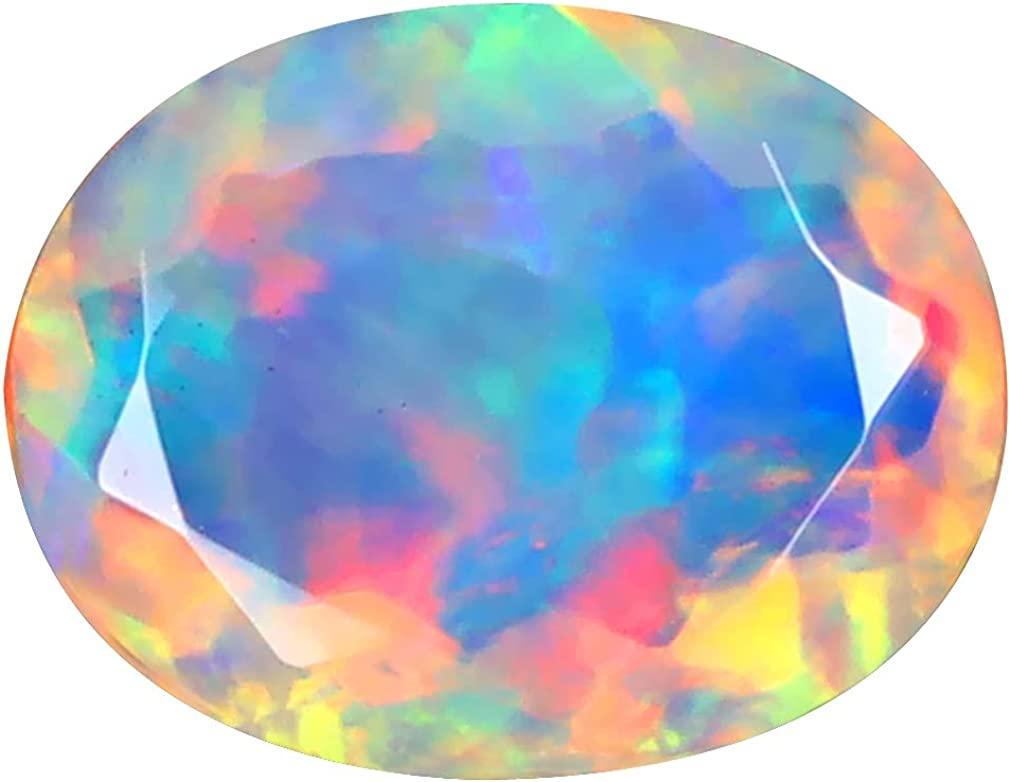 2.11 ct OVAL 12 X 9 gift mm RAINBOW 360 FLASHING Surprise price DEGREE MULTICOLOR