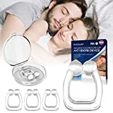 Best Snoring Aids - Upgraded Snoring Solution, 4 PCS Silicone Magnetic Anti Review