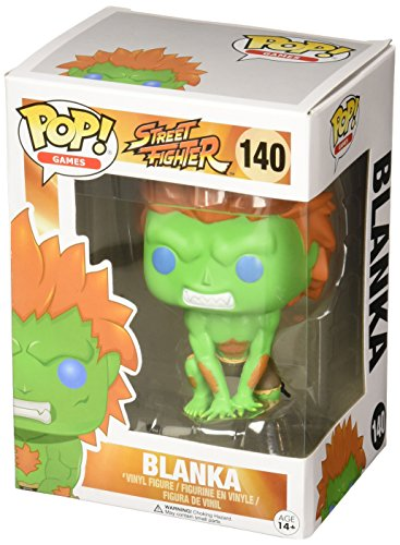 Funko 11657 POP Vinylfigur: Street Fighter: Blanka