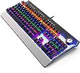 XIUYU Tastiera Meccanica Macro Programma Ufficio Computer Portatile di Gioco Metallico Esterno