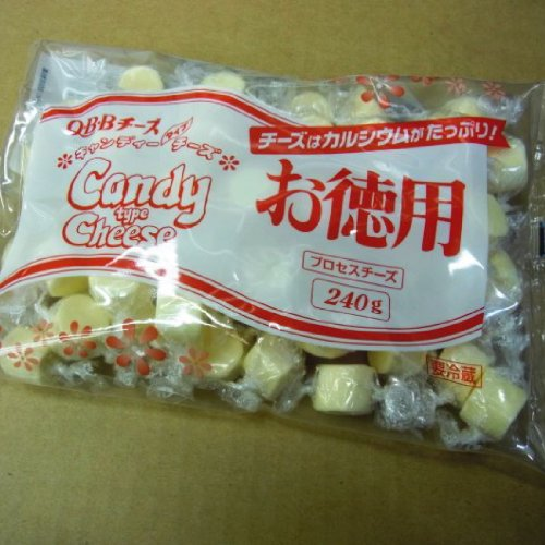 『QBB キャンディータイプチーズ お徳用240g』のトップ画像