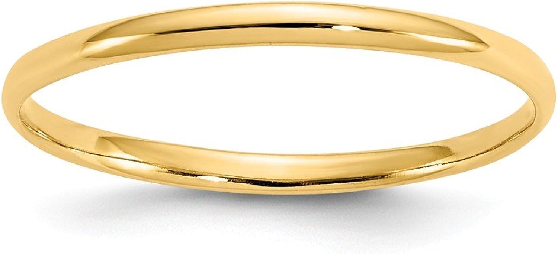 Beautiful Yellow gold 14K Yellowgold 14k Madi K Polished Baby Ring
