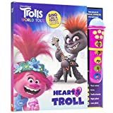DreamWorks Trolls World Tour - Heart & Troll Microphone and Sound Book Set - PI Kids (Play-A-Song)