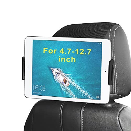 Soporte Tablet Coche, Arozxin Soporte Tablet Coche Reposacabezas, Universal Soporte iPad Coche 360 Rotación para Todos 4.7-12.9 Pulgadas iPhone/iPad Pro&Air/Tabs/Amazon Kindle Fire HD/Nintendo Switch