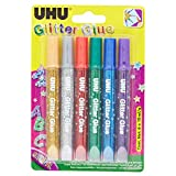 UHU Glitter Glue Original 6x10ml