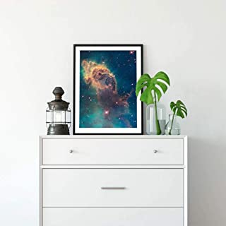 IGZAKER Universe Art Galaxy Poster Nebula Prints Hubble Telescope Space Canvas Painting Science Wall Art Picture 30x42 cm No Frame