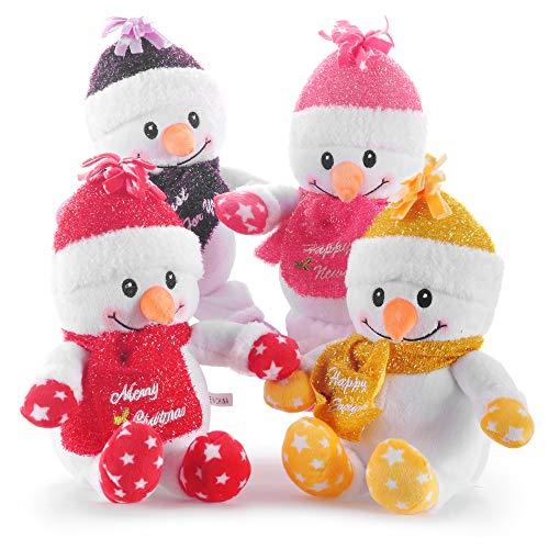 Lazada Christmas Snowman Plush- Christmas Decorations Christmas Toys Gift