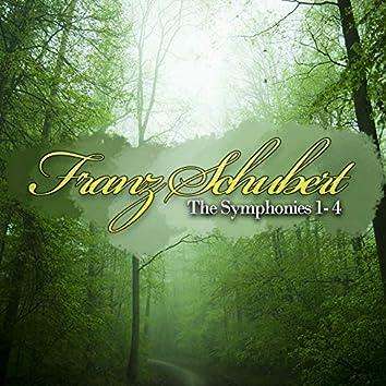 Franz Schubert: The Symphonies 1, 2, 3 & 4