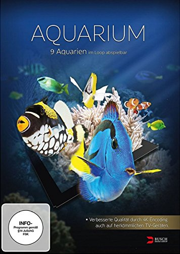 Aquarium 4K UHD Edition (gedreht in 4K Ultra High Definition)