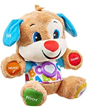 Fisher-Price Smart Stages Puppy, Laugh and Learn, Soft Educational Electronic Toddler Learning Toy with Music and Songs, Suitable for 6 Months+ FPM43