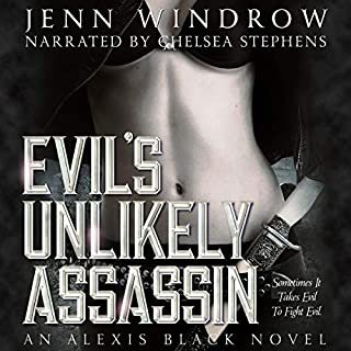Evil's Unlikely Assassin audiobook cover art