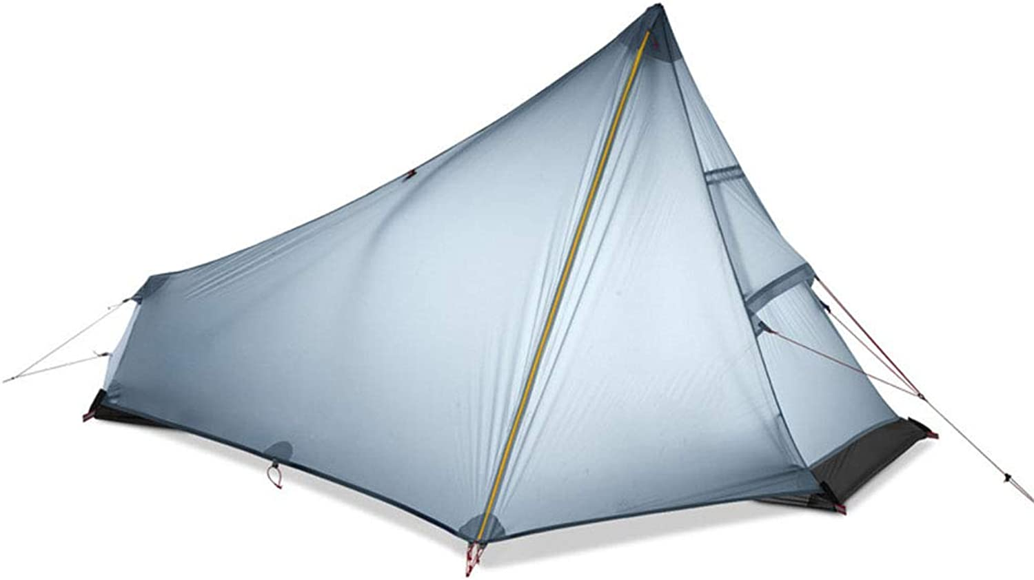 Spacious,Anti-UV Zelt, Ultralight Silicon Coated Fabric no Rod Zents Single Person Light Weight Outdoor Camping Waterproof Zents,A,220  105  125CM