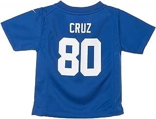 Nike Victor Cruz New York Giants Home Blue Infant Game Jersey (12M-24M)