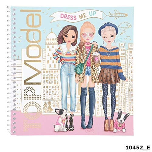 Depesche 10452 Sticker Book TopModel Dress Me Up, Sortiert