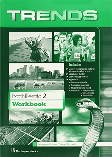 Trends 2 bachillerato : Workbook - 9789963510962
