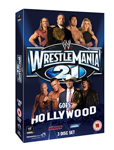 Wwe - Wrestlemania 21 (3 Dvd) [Edizione: Regno Unito] [Edizione: Regno Unito]