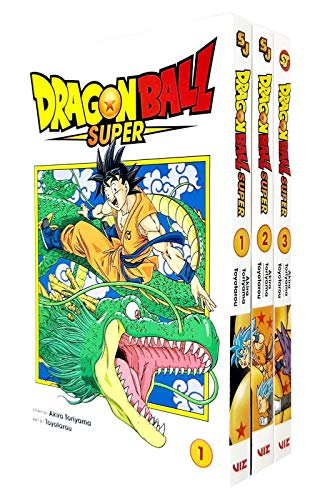 Price comparison product image Dragon Ball Super Series Vol 1-3 Books Collection Set By Akira Toriyama (Warriors From Universe 6,  The Winning Universe Is Decided