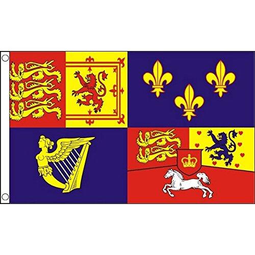 AZ FLAG Flagge DAS KÖNIGLICHE VEREINIGTE KÖNIGREICH 1714-1801 Haus VON Hannover 150x90cm - BRITISCHE Fahne 90 x 150 cm - flaggen Top Qualität