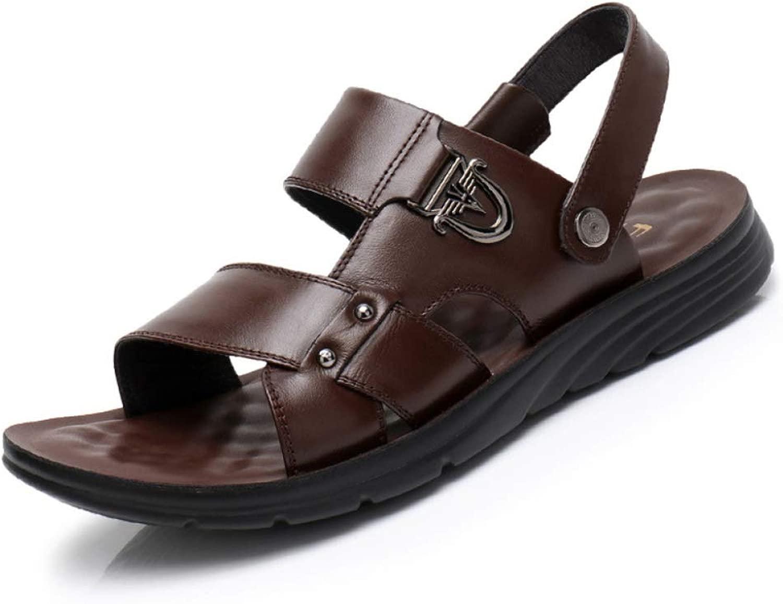 Mens Sommer Slipper Strandschuhe Outdoor Casual Sandalen Schuhe Flach Atmungsaktiv Sandalen Rutschfeste Sandalen