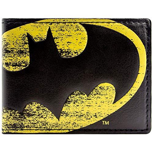 DC Comics Batman Symbole Lumière Noir Portefeuille