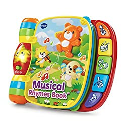 in budget affordable VTech Musical Rhymes Book, Red