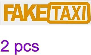FORNORM Etiqueta engomada del Coche, Drift Turbo Hoon Race Car Fake Taxi Funny 2PCS Sticker Decal (2)