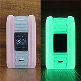 ModShield for Smok E-Priv 230W TC Silicone Case ByJojo Protective Cover (Glow-in-The-Dark)