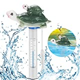 Schwimmende Pool Thermometer, Floating Pool Thermometer mit String, Baby-Pool Thermometer für Outdoor & Indoor Pools, Spas, Hot Tubs Aquarien & Fischteiche