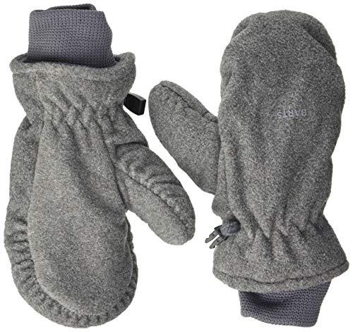 Barts Fleece Mitts Kids Jungen Handschuhe, Grau, Gr. 2 (2-3 Jahre)