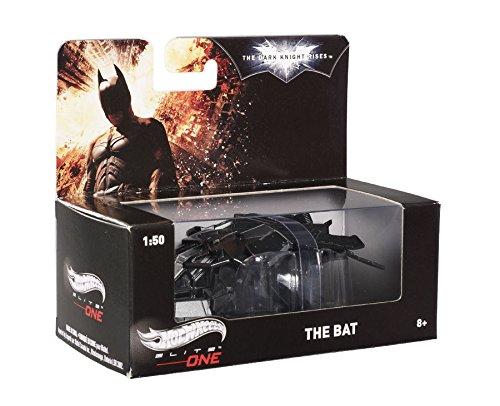 StarSun Depot Hotwheels Hot Wheels Batman Dark Knight Rises The Bat Plane Elite 1/50