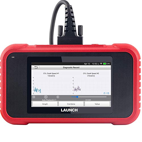 LAUNCH OBD2 Scanner - CRP129E Scan Tool for Engine ABS SRS Transmission Code Reader with Oil/EPB/TPMS/SAS/Throttle Body Reset Car Diagnostic Tool, AutoVIN Wi-Fi Updates, Upgraded of Launch CRP129