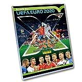 Panini 308958 Sammelkarten Road to Euro 2020, Starterset, Sammelordner, Magazin, Spielfeld, 5 Booster und Limitierte Karte, bunt
