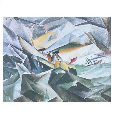 Lyonel Feininger Poster Kunstdruck Der Raddampfer