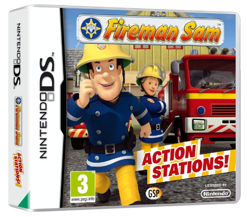 NEW & SEALED! Fireman Sam Action Stations Nintendo DS Game UK
