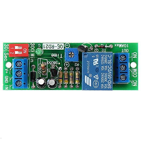 MING-MCZ Duradero Desconexión de Apagado Disconnect Módulo de relé Módulo de Interruptor de retardo de Temporizador QF-RD21 5V Fácil de Montar