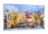 ARTTOR Cuadro sobre Vidrio - Cuadro Cristal - Cuadros Decoracion Salon Modernos - Decoración Hogar - Muchos Tamaños y Varios Temas Gráficos - Pequeño y Grande - GAA120x80-3419