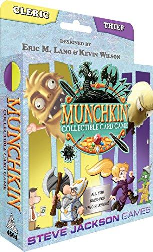 Steve Jackson Games Munchkin 4504 CCG Cleric/Thief Starter Set (versión en inglés)