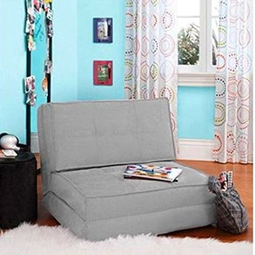Flip Chair Convertible Sleeper Dorm Bed Couch Lounger Sofa...