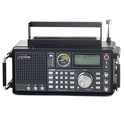 TECSUN S2000Desktop Empfänger mit HF und VHF Airband