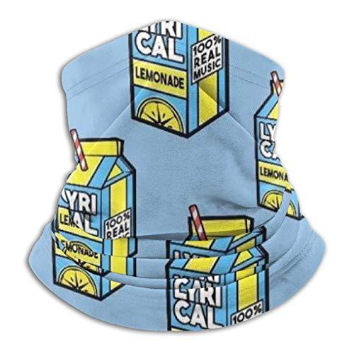 YBEAYQYXR Lemonade Milch Drink Unisex Mikrofaser Halswärmer Sonnenschutz Winddicht Sturmhaube Stirnband Schal für Outdoor