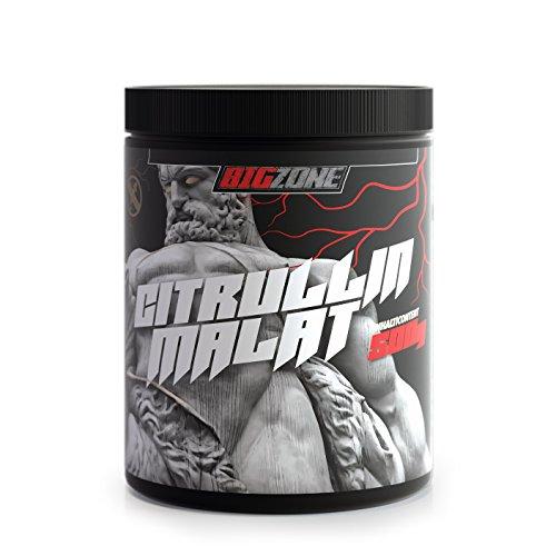 Big-Zone 100% Citrullin Malat L-CITRULLIN - Malat Pulver | Hohe Reinheit | Made in Germany | 500g