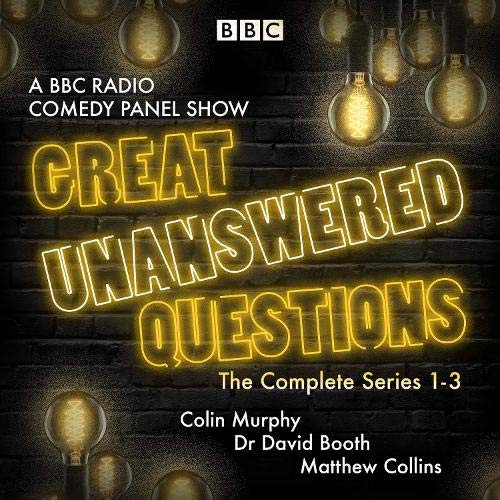 Great Unanswered Questions: Series 1-3 cover art