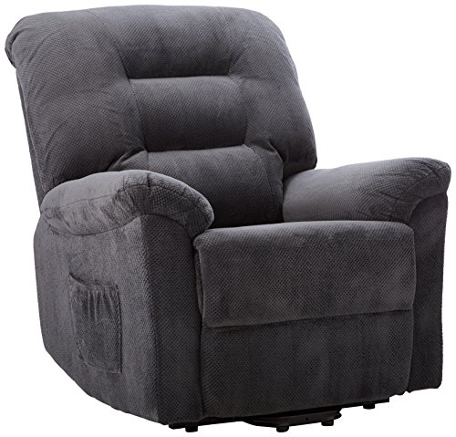 Power Lift Recliner Charcoal