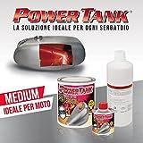 Lux Metal Power Tank Trattamento ripara, rigenera e Protegge Serbatoi Moto...