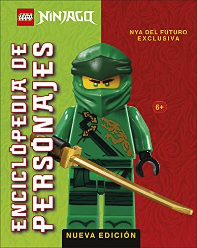 LEGO® NINJAGO®. Enciclopedia de personajes (nueva edición): (incluye una figura exclusiva de Nya del Futuro)